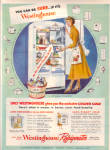 1949 Westinghouse Refrigerator BE SURE AD