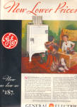 Click to view larger image of 1932 General Electric GARLAND Artwork Refrige (Image1)