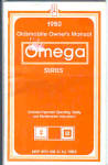 Click here to enlarge image and see more about item 012303GP: 1980 Olds OMEGA Owners Manual ORIGINAL