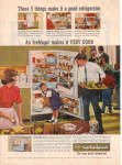 1964 WHIRLPOOL Party Time  Refrigerator AD