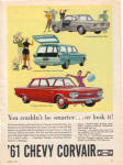 Click here to enlarge image and see more about item 012605N: 1961 Chevy CORVAIR Monza - 500 Chevrolet AD