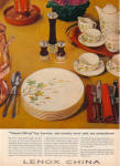 1957 LENOX West Wind Dinnerware Pattern AD
