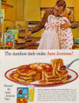 Click here to enlarge image and see more about item 012905G: 1962 DANDIEST DAD in Apron Aunt Jemima AD