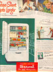 Click here to enlarge image and see more about item 012905M: 1949 Servel Gas Refrigerator STAYS SILENT AD #2