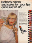 Click here to enlarge image and see more about item 013005S: 1977 Helena Rubinstein LIPSTICK Ad