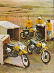 Click here to enlarge image and see more about item 013105Q: 1973 SUZUKI TM400 TM250 TM125 Motorcycle AD
