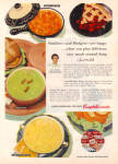 Click here to enlarge image and see more about item 030304FE: 1954 Cambells Soup w/ Russel Wright IROQUOIS