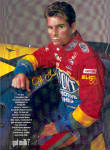 Click here to enlarge image and see more about item 030604JG: JEFF GORDON NASCAR Signed GOT MILK AD XL