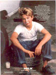 Click here to enlarge image and see more about item 030604JTT: JONATHAN TAYLOR THOMAS Got MILK AD