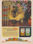 1964 Friskies SIAMESE CAT Food Ad