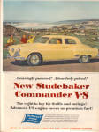 1951 Studebaker  Commander V-8 Yellow Car Ad