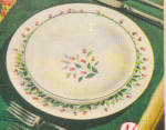 Click to view larger image of 1949 Knowles China ROSE PATH Dinnerware AD (Image2)