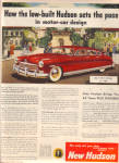 Click here to enlarge image and see more about item 102404ce: 1949 HUDSON Low Built Univserity Car AD