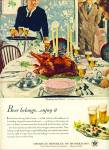 Click here to enlarge image and see more about item 10632: 1950 - America's beverage of moderation ad