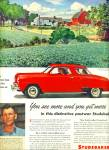 Click here to enlarge image and see more about item 10809: 1947 - Studebaker automobile ad