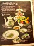 Click to view larger image of 1970 SPODE CHRISTMAS Tree Giftware AD (Image1)