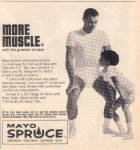 1965 MAYO SPRUCE Boy and Man Underwear AD