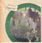 Click to view larger image of 1953 IMPERIAL GLASS Candlewick - Cape COD AD (Image2)