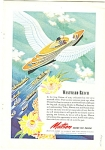 Matson Lines ad 1944 SHIP WESTWARD REACH