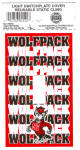 Click here to enlarge image and see more about item 120404: NEW LOT NC STATE WOLFPACK Light Switchplate C