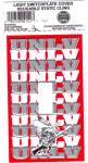 Click here to enlarge image and see more about item 120504CD: NEW LOT UNLV Light Switchplate COVERS FIVE