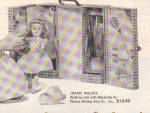 Click to view larger image of 1954 JOANIE WALKER PMA DOLL AD w/ Wardrobe (Image2)