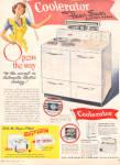 1949 COOLERATOR Flavor Sasver RANGE Stove AD