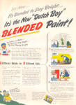 Click to view larger image of 1947 DUTCH BOY White LEAD Paint AD 2 pg. (Image2)