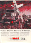 1964 DANA US  Army Military Truck MISSILE AD