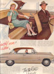 1951 Ford VICTORIA Luxury Lounge CAR AD