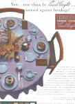 Click here to enlarge image and see more about item 122104FL: 1951 IROQUOIS RUSSEL WRIGHT Casual China AD