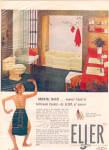 Click here to enlarge image and see more about item 122104ZB: 1957 Eljer Plumbing Fixtures Nude Lady Ad