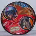 Click to view larger image of Star Wars Podrace Plastic Plates Anakin and Sebulba  (Image1)