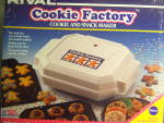 Click here to enlarge image and see more about item 130824RI: NFRB Vintage USA Rival COOKIE Factory - Snack Maker