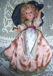 Click here to enlarge image and see more about item 131214MAR: Dream World 11in Vintage Composition Doll Little Betty