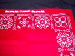 Click to view larger image of NOS Lionel TRAIN Red Kerchief BANDANA NEW OLD STOCK (Image2)