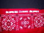 Click to view larger image of NOS Lionel TRAIN Red Kerchief BANDANA NEW OLD STOCK (Image3)