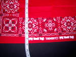 Click to view larger image of NOS Lionel TRAIN Red Kerchief BANDANA NEW OLD STOCK (Image5)