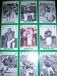 Click here to enlarge image and see more about item 131229MSU: Whole Uncut Sheet 1990 Michigan State MSU Spartans Foot