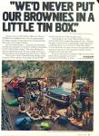 Click here to enlarge image and see more about item 1354: 1980 VOLVO Scout Brownie Troop #1900 LA CA ad
