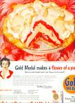 Click here to enlarge image and see more about item 1380: Gold Medal flour ad 1956