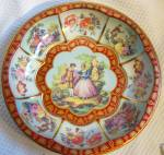 Vintage Tin Metal bowl~ Daher Decorated Ware ~ England~