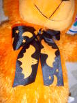 Click to view larger image of MWT New ~ HALLOWEEN Orange Plush Cuddly Bear ~ 2008 (Image4)