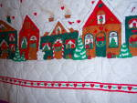 Click to view larger image of QUILTED FABRIC ~ Christmas Apron ~ PANEL ~ Santa Ginger (Image4)