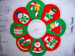 Click to view larger image of VIP Cranston HOLIDAY WREATH  Cut and Sew Fabric Panel C (Image2)