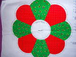 Click to view larger image of VIP Cranston HOLIDAY WREATH  Cut and Sew Fabric Panel C (Image3)