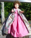Click here to enlarge image and see more about item 150117RDC: 1982 Royal Doll Company Masterpiece Elegant Vinyl Doll