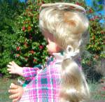 Click to view larger image of Vintage Doll MOD - GOGO Boots Nancy Sinatra Furga Italy (Image7)