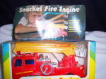 Click to view larger image of VINTAGE  COLLECTIBLE  SNORKEL FIRE ENGINE  1970s  (Image1)