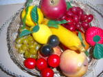Click to view larger image of Vintage LOT 1970's Plastic Fruit Vegetable Deco Banana  (Image6)